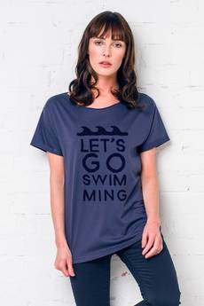 GAU great as You - SWIMMING t-shirt oversize