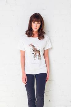 GAU great as You - GIRAFFE PAINTED t-shirt oversize