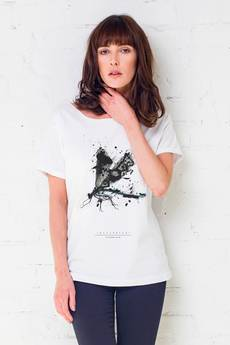 GAU great as You - DRAGONFLY PAINTED t-shirt oversize