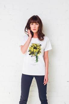 GAU great as You - SUNFLOWER PAINTED t-shirt oversize