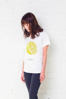 GAU great as You - LEMON t-shirt oversize
