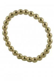 ATdiament - Srebrny pozłacany pierścionek obrączka z kulek