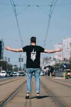 The Urban Beard - T-shirt Thunderous⚡skull
