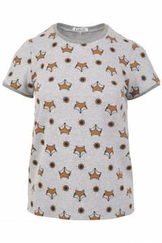 Pinky Planet - T- shirt Fox