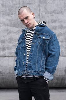 90'S HEAVY TRUCKER JEANS JACKET - 62314