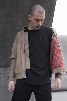 The Hive - SUEDE HARRINGTON JACKET LIMITED ED