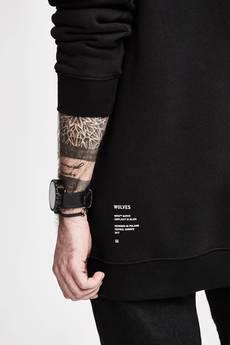 ORTIZ - Bluza Wolf Hoodie