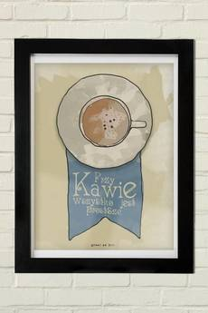GAU Home - KAWA Plakat 30x40