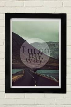 GAU Home - MY WAY Plakat 30x40