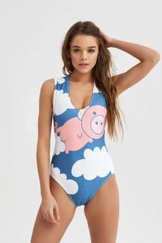 Mr. Gugu & Miss Go - Strój kąpielowy Flying Pigs