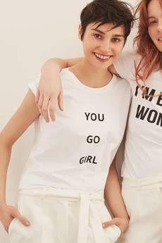 """ECHO - T-shirt """"You Go Girl"""""""