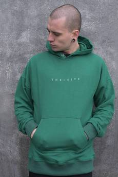 The Hive - HIVE HOODIE IN BOTTLE GREEN