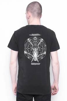 The Hive - FRAME WASHED BLACK TEE LIMITED