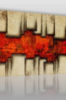 VAKU-DSGN - OBRAZ NA PŁÓTNIE - ABSTRAKCJA NOWOCZESNY - (40301)