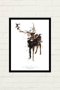 GAU Home - DEER PAINTED Plakat 30x40