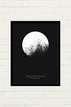 GAU Home - BLACK MOUNTAIN Plakat 30x40