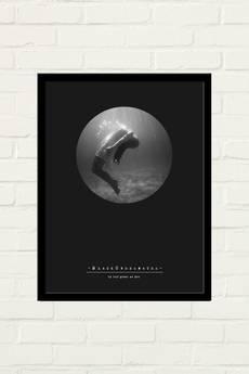 GAU Home - BLACK UNDERWATER Plakat 30x40