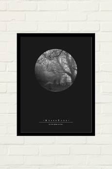GAU Home - BLACK TREE Plakat 30x40