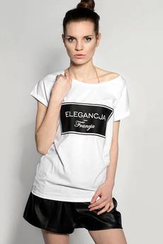 ŁAP NAS - Tshirt ,,ELEGANCJA FRANCJA