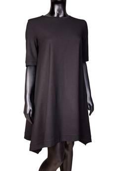 Non Tess - wełniana sukienka z dłuższymi bokami
