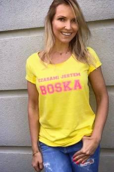 FLORAL MORAL - CZASAMI JESTEM BOSKA żółta