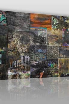 VAKU-DSGN - OBRAZ NA PŁÓTNIE - STREET ART GRAFFITI - (34301)
