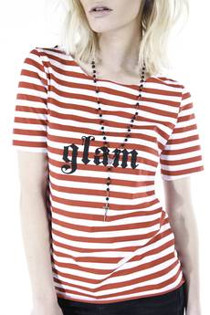 GLAM - #GLAM T-SHIRT STRIPES