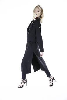 Glam rocker jacket dress black limited