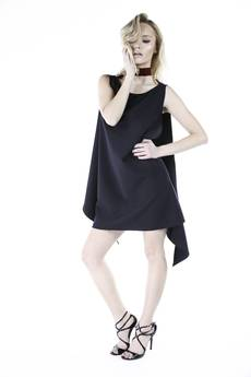 GLAM - #GLAM ANGEL DRESS BLACK LIMITED