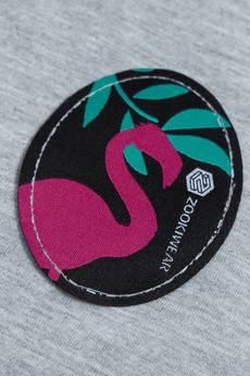 ZookiWear - Bluza Simple Gray Flamingo