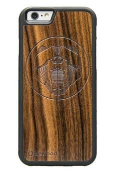 bewood - iPhone 6/6S Drewniane etui Niedżwiedż