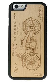 bewood - iPhone 6/6S Drewniane etui Harley Patent