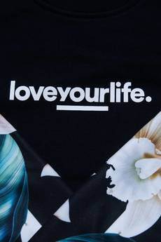 xxx-Alkopoligamia - Bluza loveyourlife. Botanix Sleeve