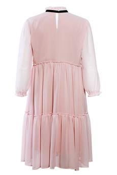 JO-LI - Sukienka szyfonowa z falbanami
