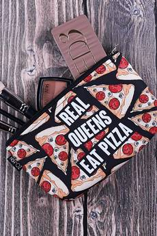 ZO-HAN - Kosmetyczka Real Queens Eat Pizza