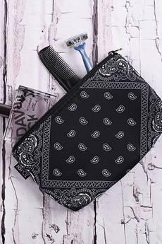 ZO-HAN - Kosmetyczka Black Bandana