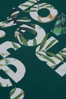 xxx-Alkopoligamia - T-shirt loveyourlife. Botanix Zielony