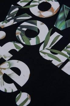 xxx-Alkopoligamia - T-shirt loveyourlife. Botanix Czarny