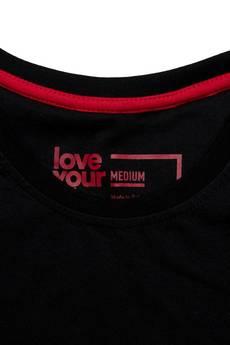 xxx-Alkopoligamia - T-shirt loveyoulife. Botanix Pocket Czarny