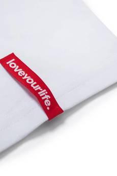 xxx-Alkopoligamia - T-shirt loveyourlife. Botanix Biały