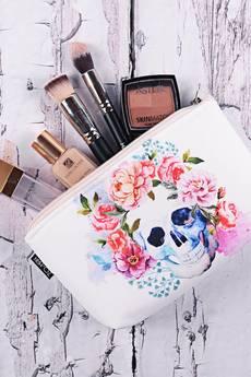 ZO-HAN - Kosmetyczka Floral Skull