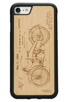 bewood - iPhone 7 Drewniane etui Harley Patent