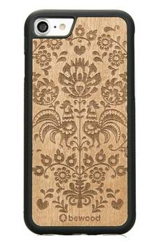 bewood - iPhone 7 Drewniane etui Polski Folk