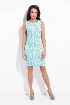 COCOVIU - sukienka sydey niebieska a'la pollock