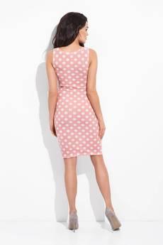 COCOVIU - sukienka sydey różowa w kropki