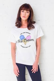 GAU great as You - ICE CREAM t-shirt oversize