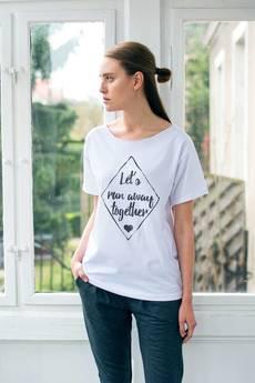 GAU great as You - RUN AWAY t-shirt oversize