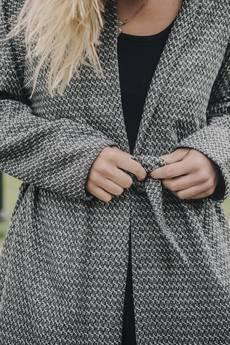 dzieńdobry - Płaszcz wełniany   Pattern Wool