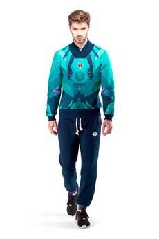 OKUAKU - Uranus Cardigan (Turquoise)