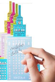 Hellowawa - notes magnetyczny Pałac Kultury